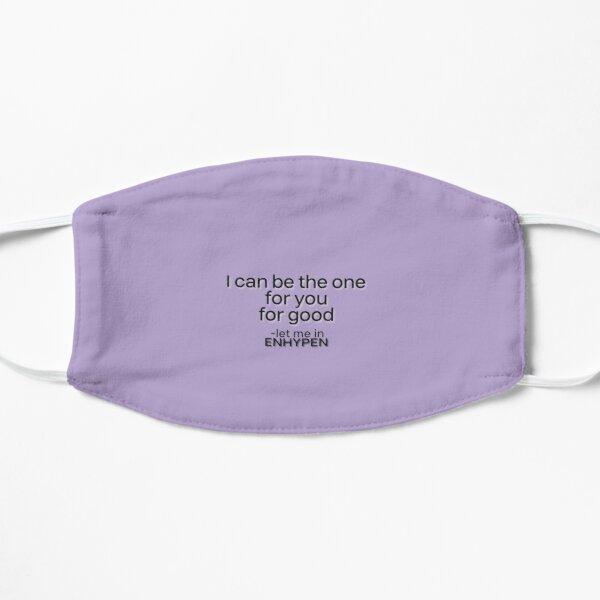 ENHYPEN 'LET ME IN' LYRICS Flat Mask RB3107 product Offical Enhypen Merch