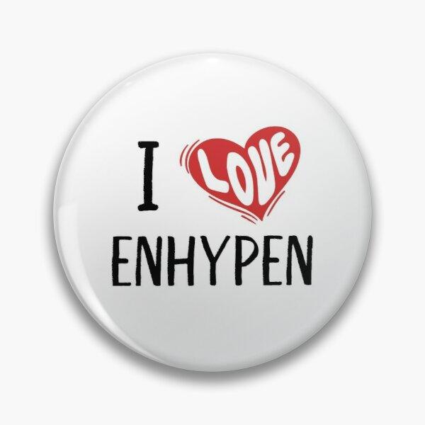 I Love Enhypen Pin RB3107 product Offical Enhypen Merch