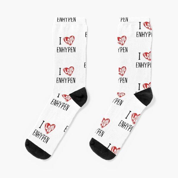 I Love Enhypen Socks RB3107 product Offical Enhypen Merch